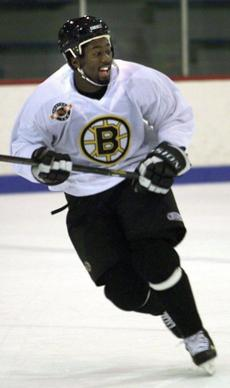 Anson Carter played for the Bruins from 1996 to 2000.